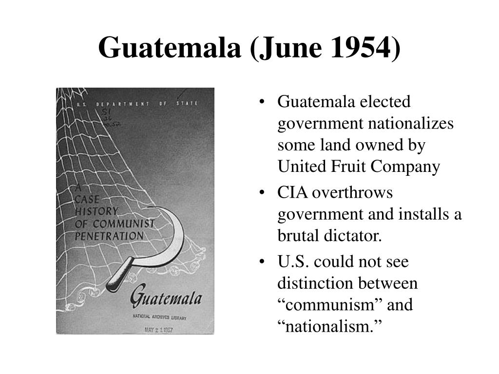 Guatemala (June 1954)