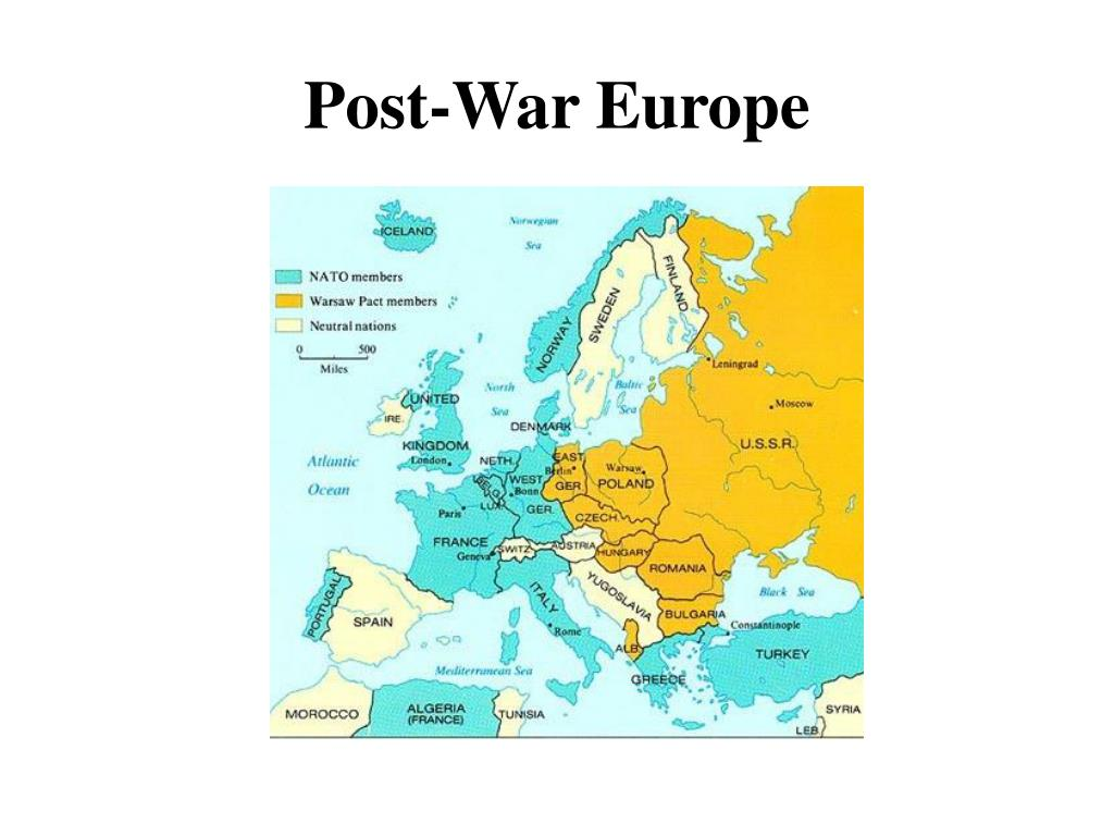 Post-War Europe
