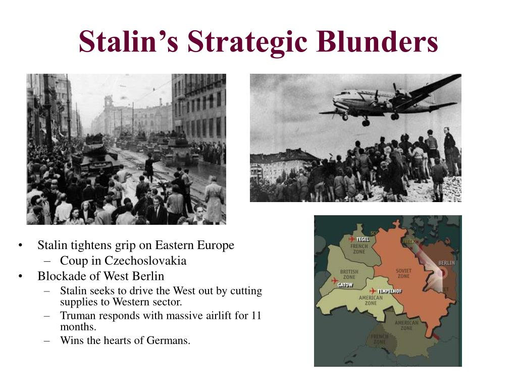 Stalin's Strategic Blunders