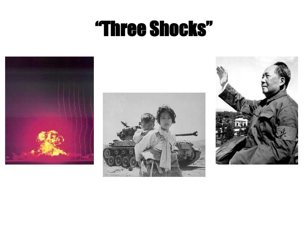 """""""Three Shocks"""""""