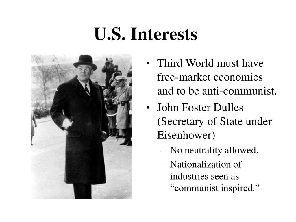U.S. Interests