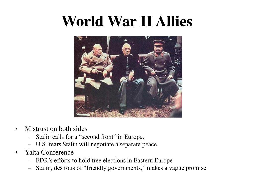 World War II Allies