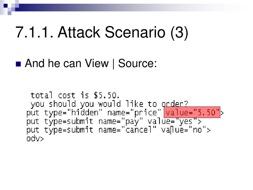 7.1.1. Attack Scenario (3)