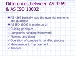 differences between as 4269 as iso 1000212