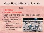 moon base with lunar launch24