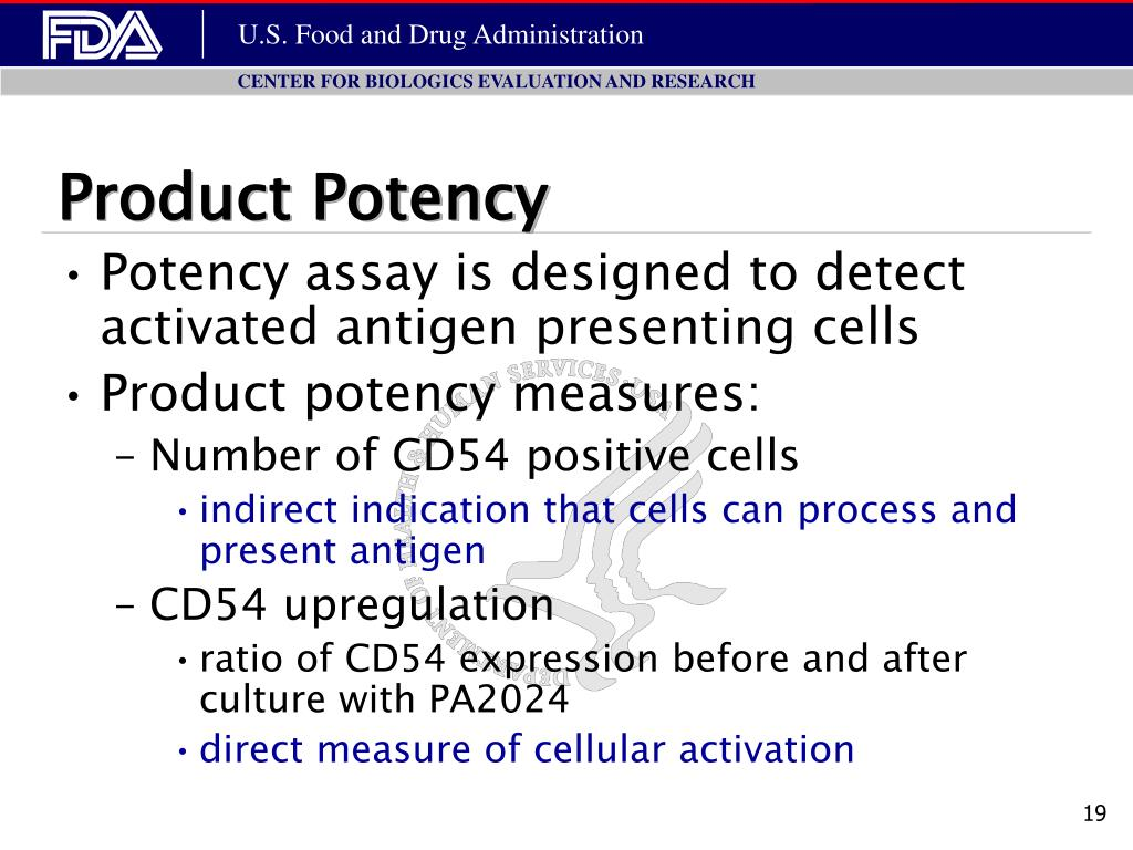 Product Potency