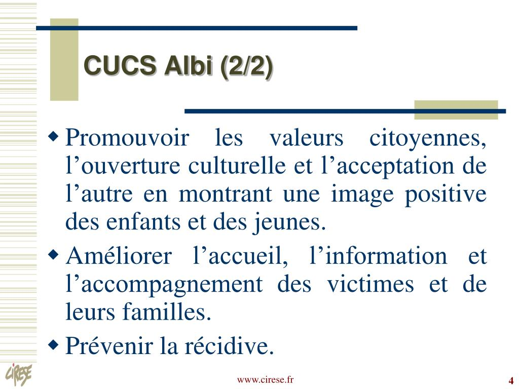 CUCS Albi (2/2)