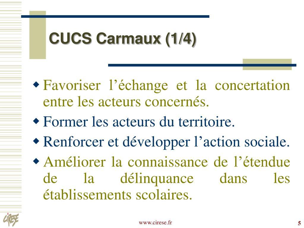 CUCS Carmaux (1/4)