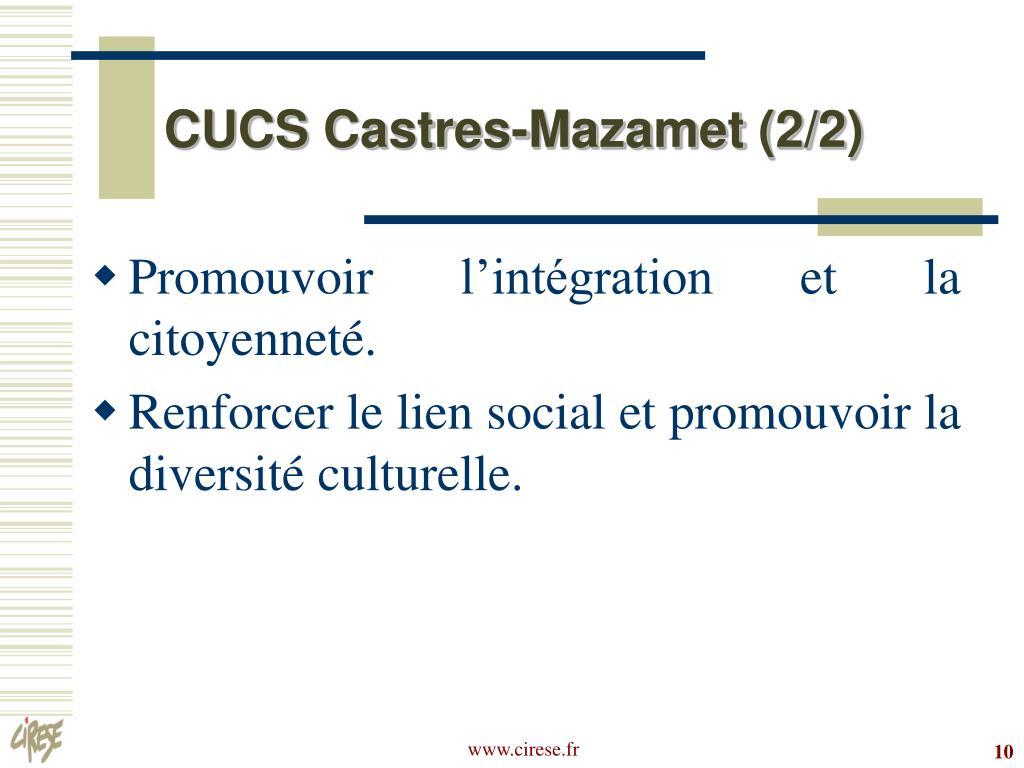 CUCS Castres-Mazamet (2/2)