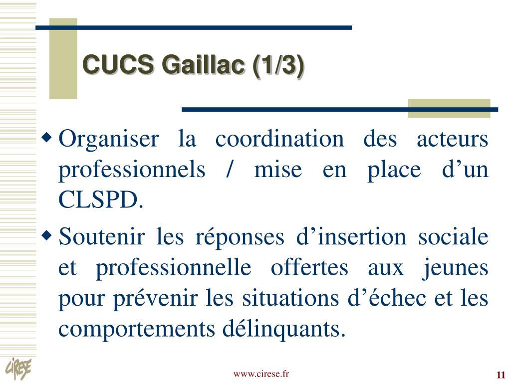 CUCS Gaillac (1/3)