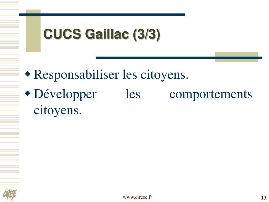 CUCS Gaillac (3/3)