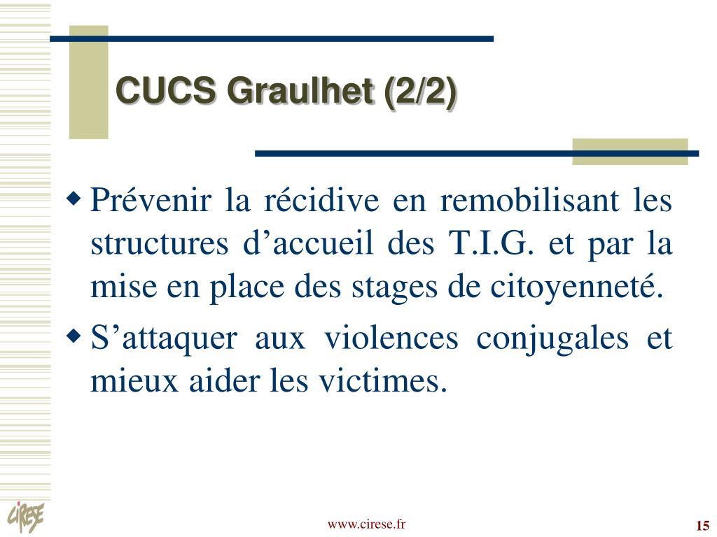 CUCS Graulhet (2/2)