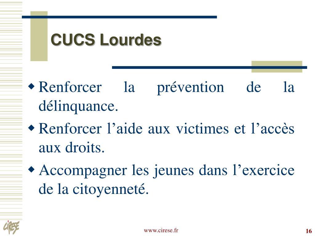CUCS Lourdes