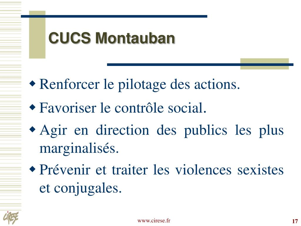 CUCS Montauban