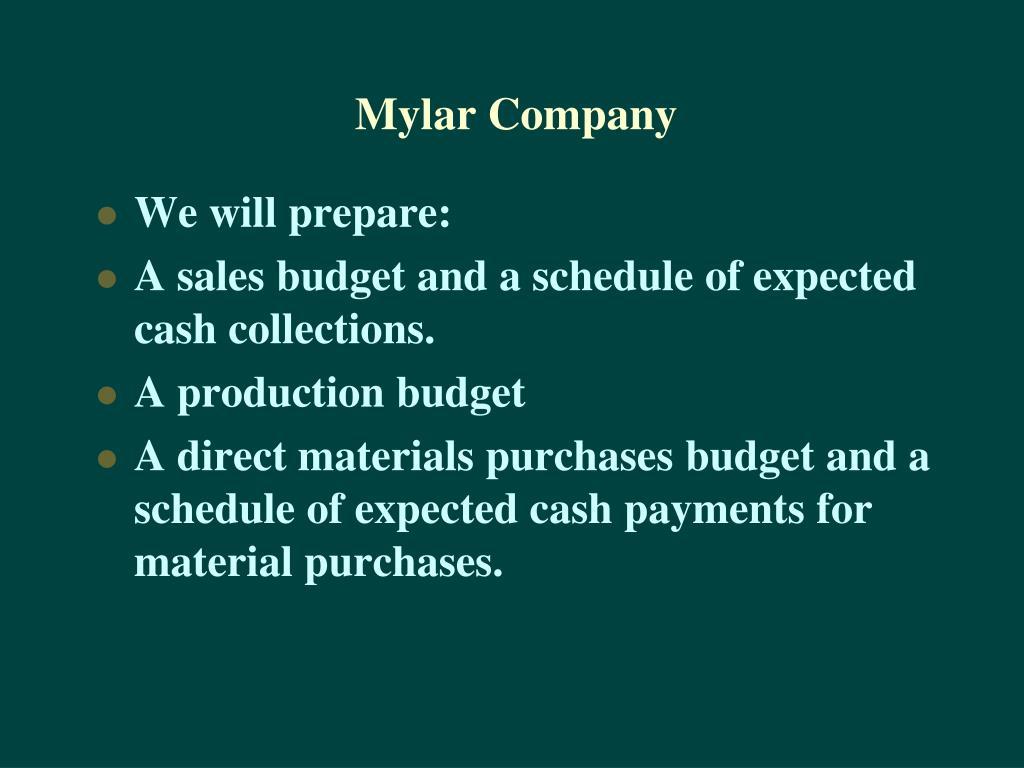 Mylar Company