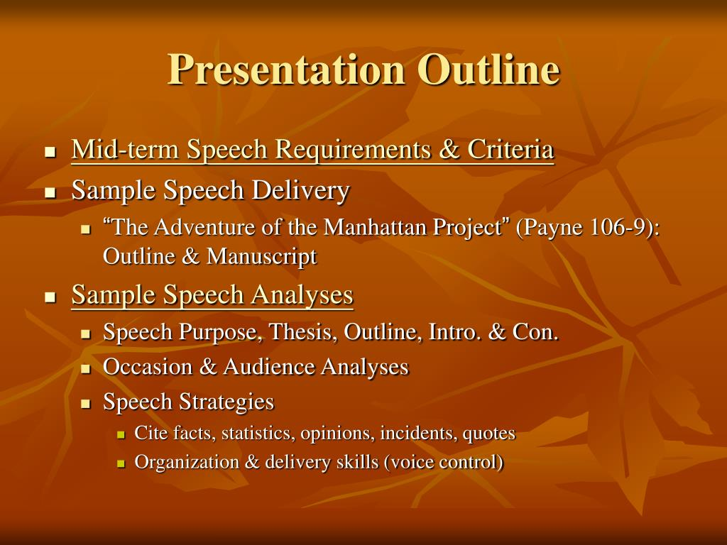 informative speech thesis View notes - informative speech from speech 227 at devry chicago informative speech: what are dreams title: what are dreams general purpose: to inform specific.