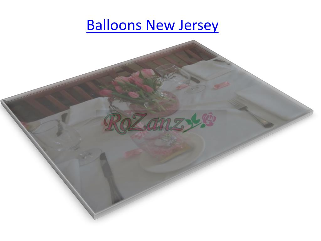 Balloons New Jersey