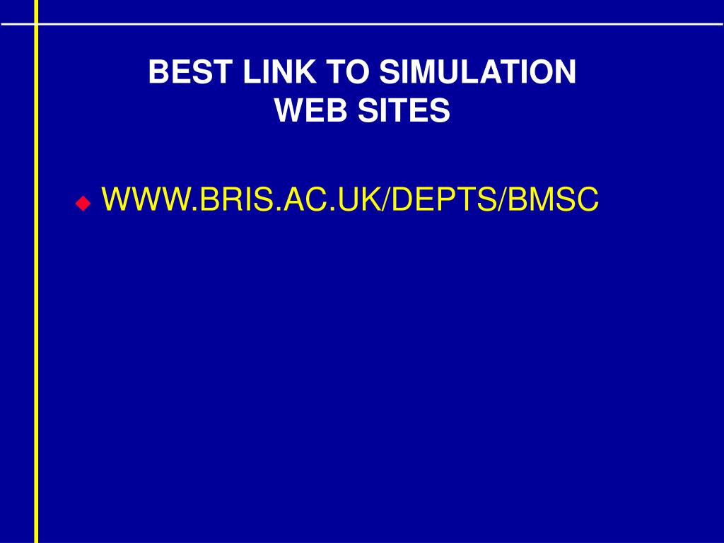BEST LINK TO SIMULATION