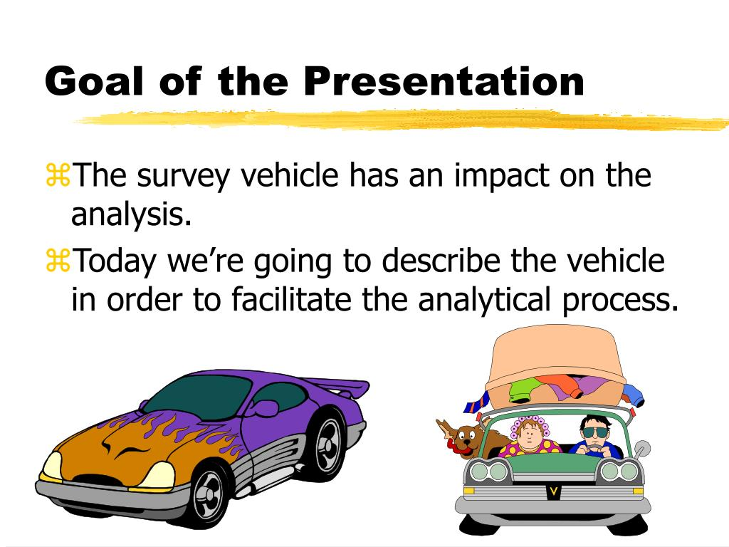 Goal of the Presentation