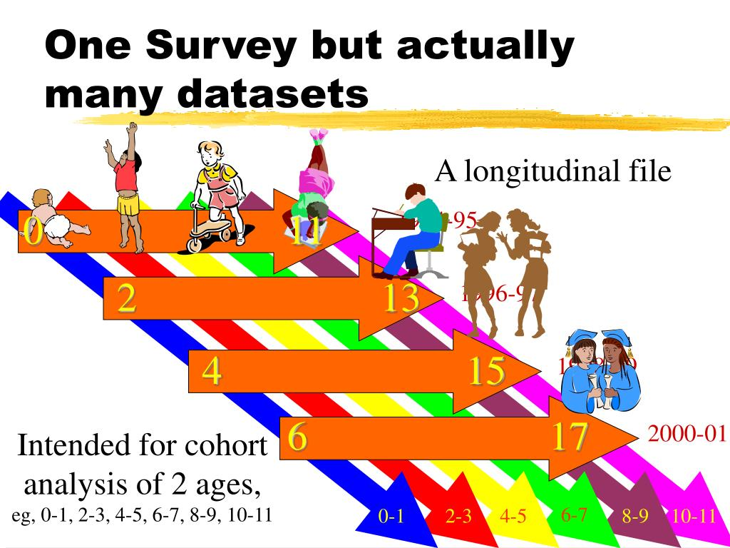 One Survey but actually many datasets