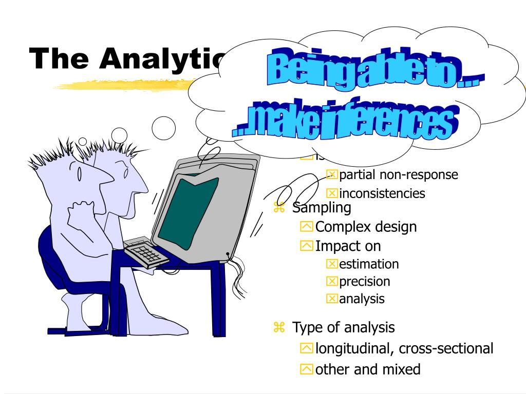 The Analytical Issues