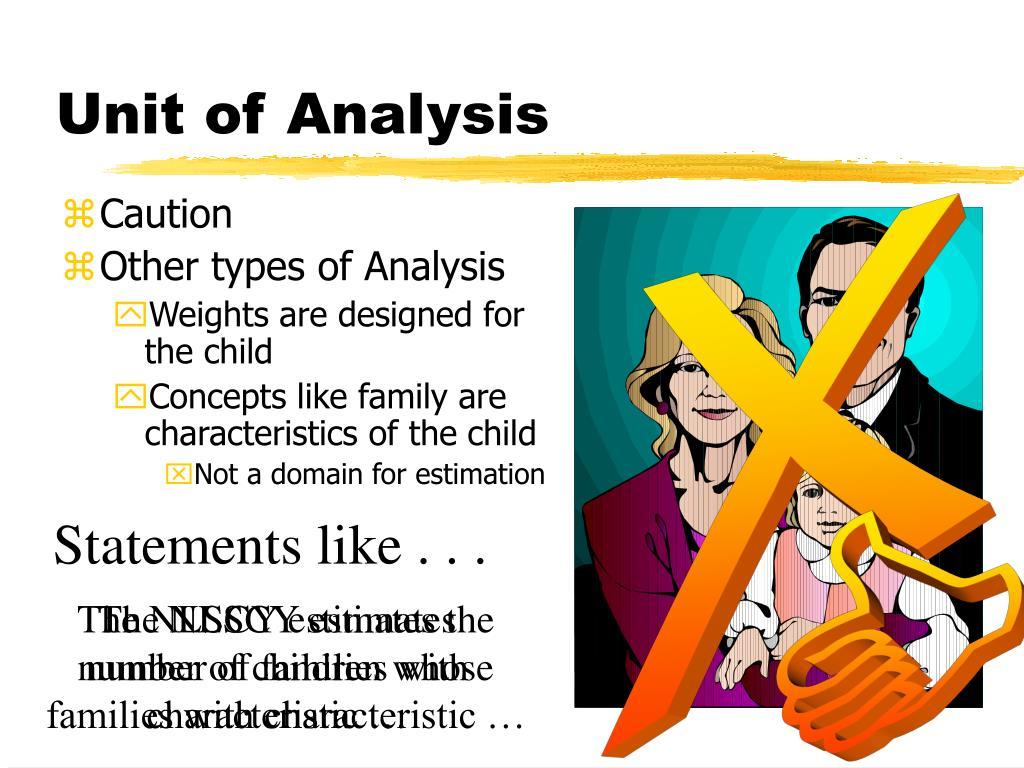 Unit of Analysis