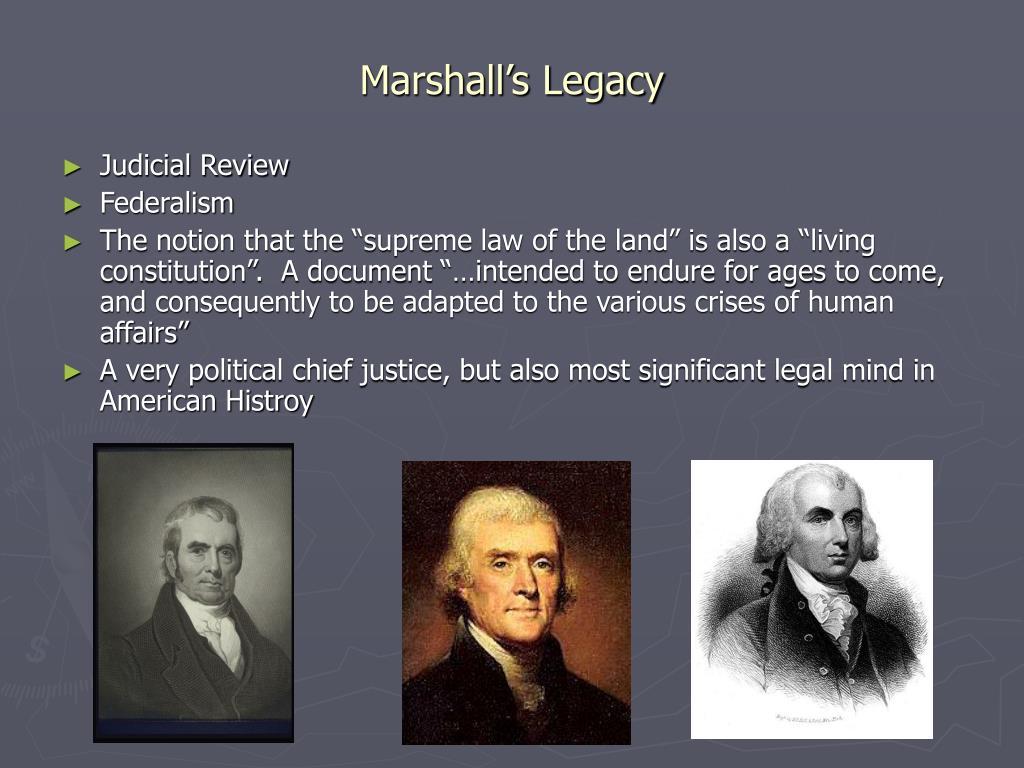 Marshall's Legacy