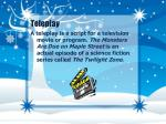 teleplay