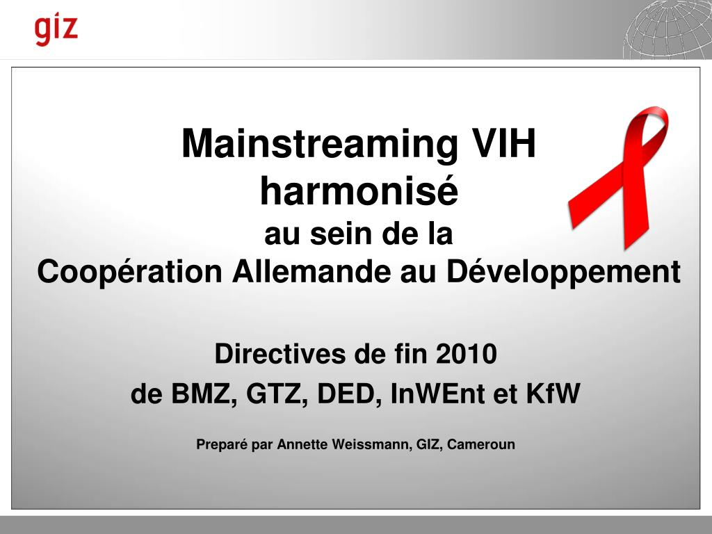 Mainstreaming VIH