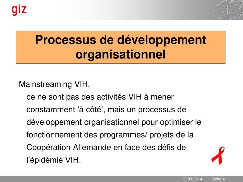 Processus de développement organisationnel