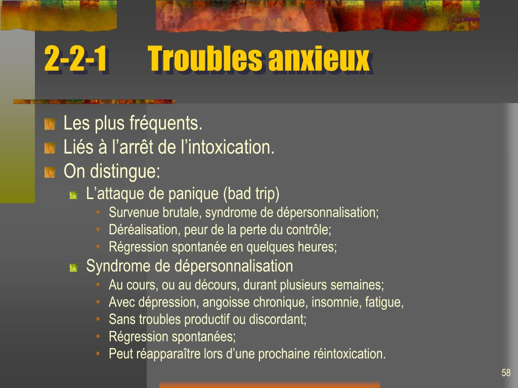 2-2-1Troubles anxieux
