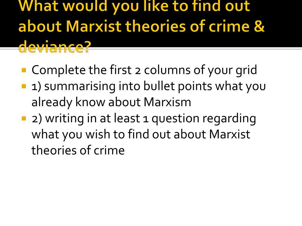 marxist theories essay
