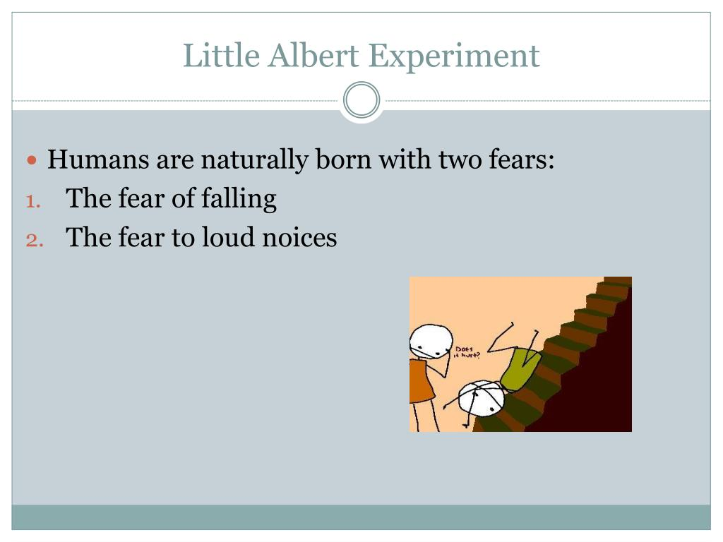 little albert experiment essay Assignment 2: essay- little albert and classical conditioning there have been several classical experiments to study and dscribe classical conditioning : one of the more famous is the little albert experexperoment.