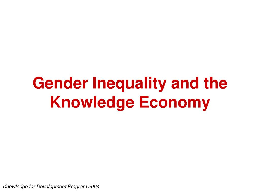 gender and economy This is part of a series of think pieces reflecting on the importance of bringing the social dimension back into discussions about green economy and sustainable development in the absence of appropriate social policies, the green economy may exacerbate existing gender inequities to the detriment.