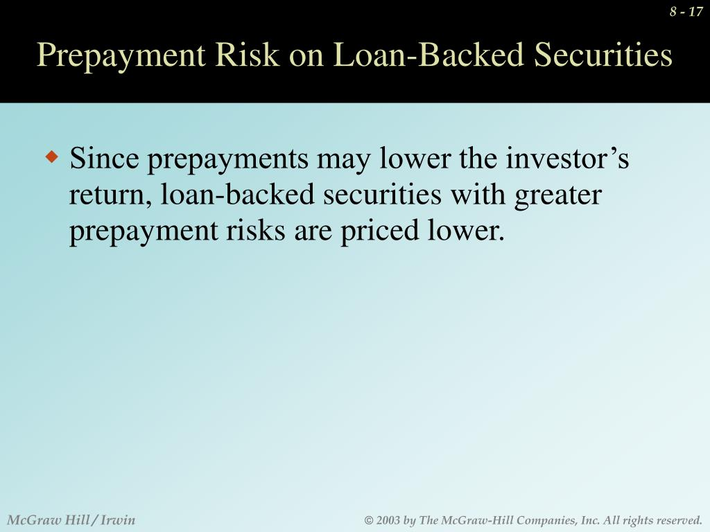 Ppt Marketability Default Risk Call Privileges