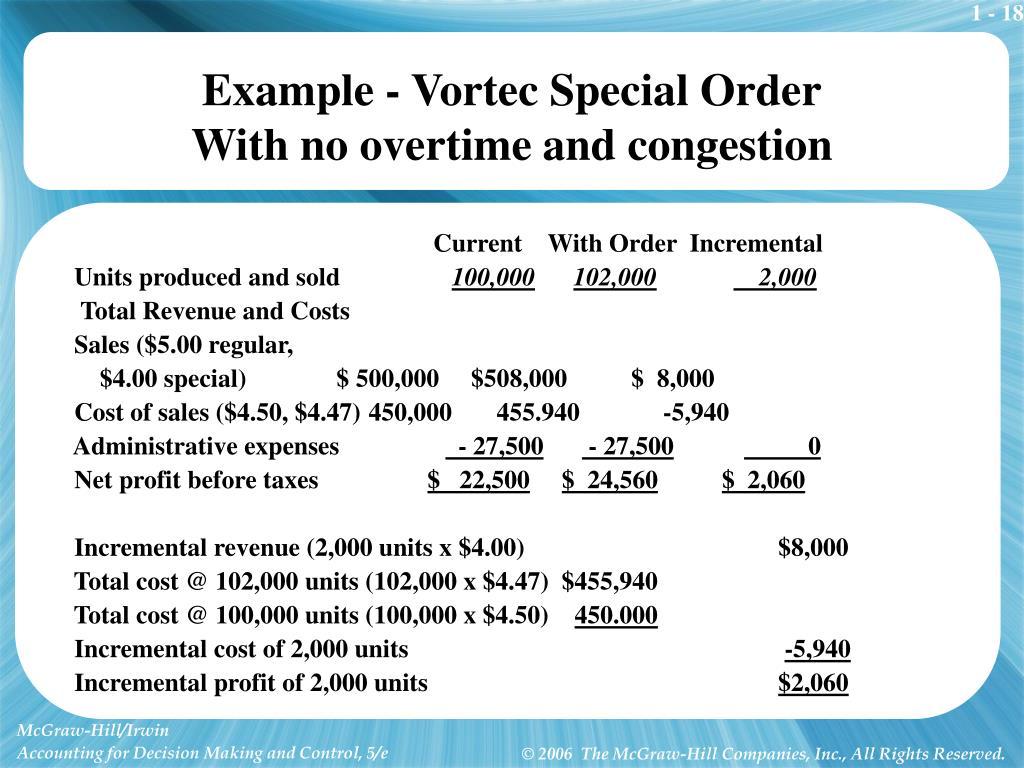 Example - Vortec Special Order