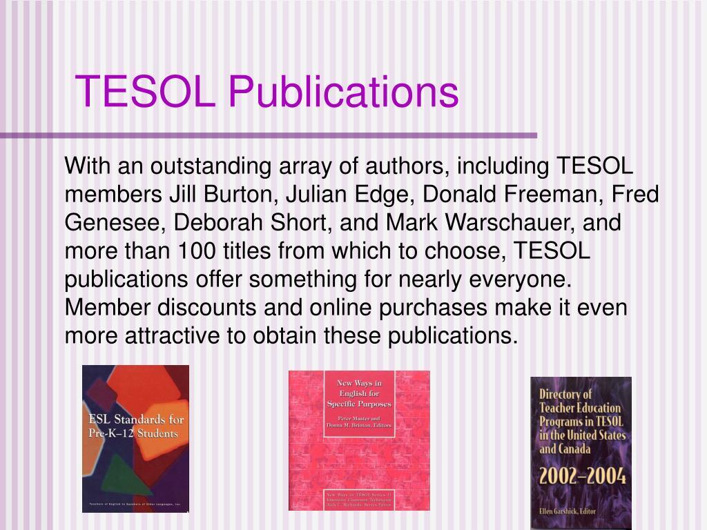 TESOL Publications