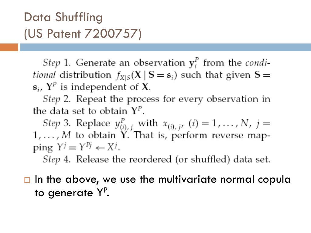 Data Shuffling