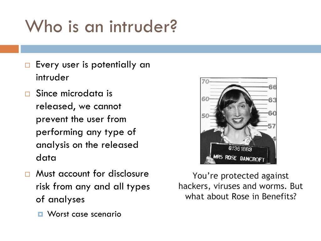 Who is an intruder?