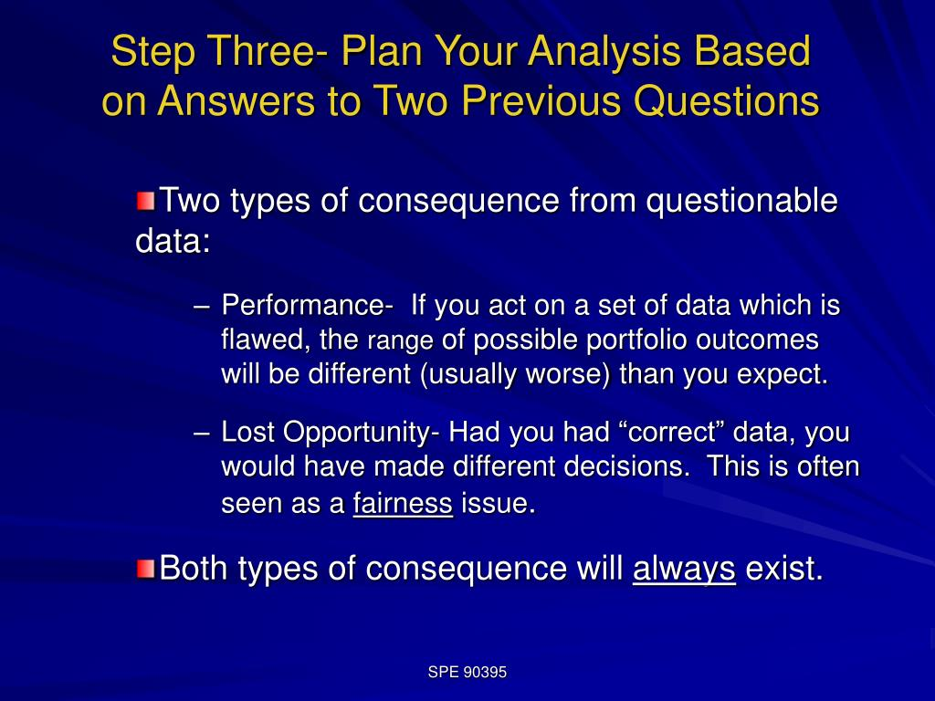 Step Three- Plan Your Analysis Based on Answers to Two Previous Questions