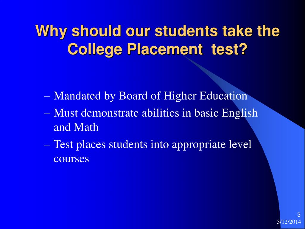 College Placement Test Practice, Prep, and Review