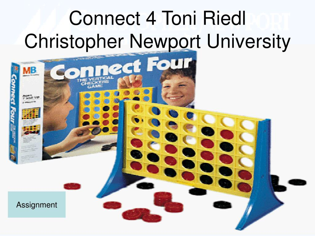 Connect 4 Toni Riedl