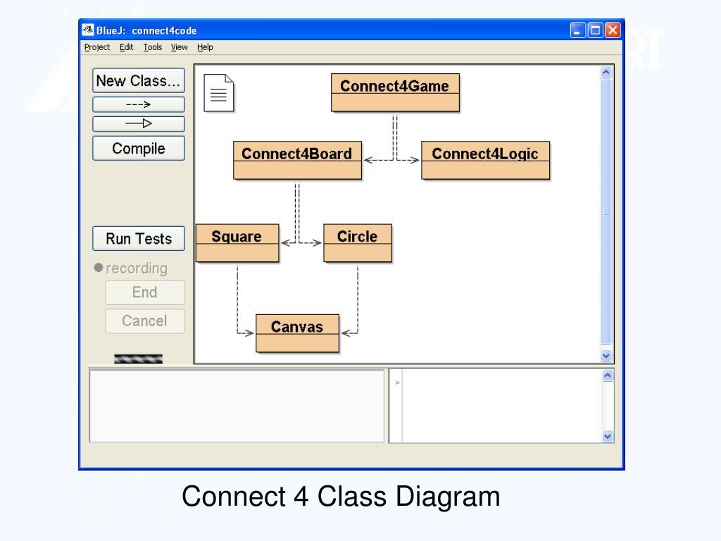 Connect 4 Class Diagram