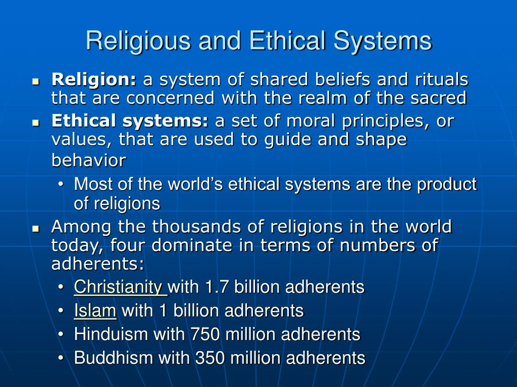 chinese religious and ethical systems Importance of religious beliefs to ethical attitudes in business cover page footnote  tisha emerson is associate professor and joseph mckinney is the ben h williams professor of.