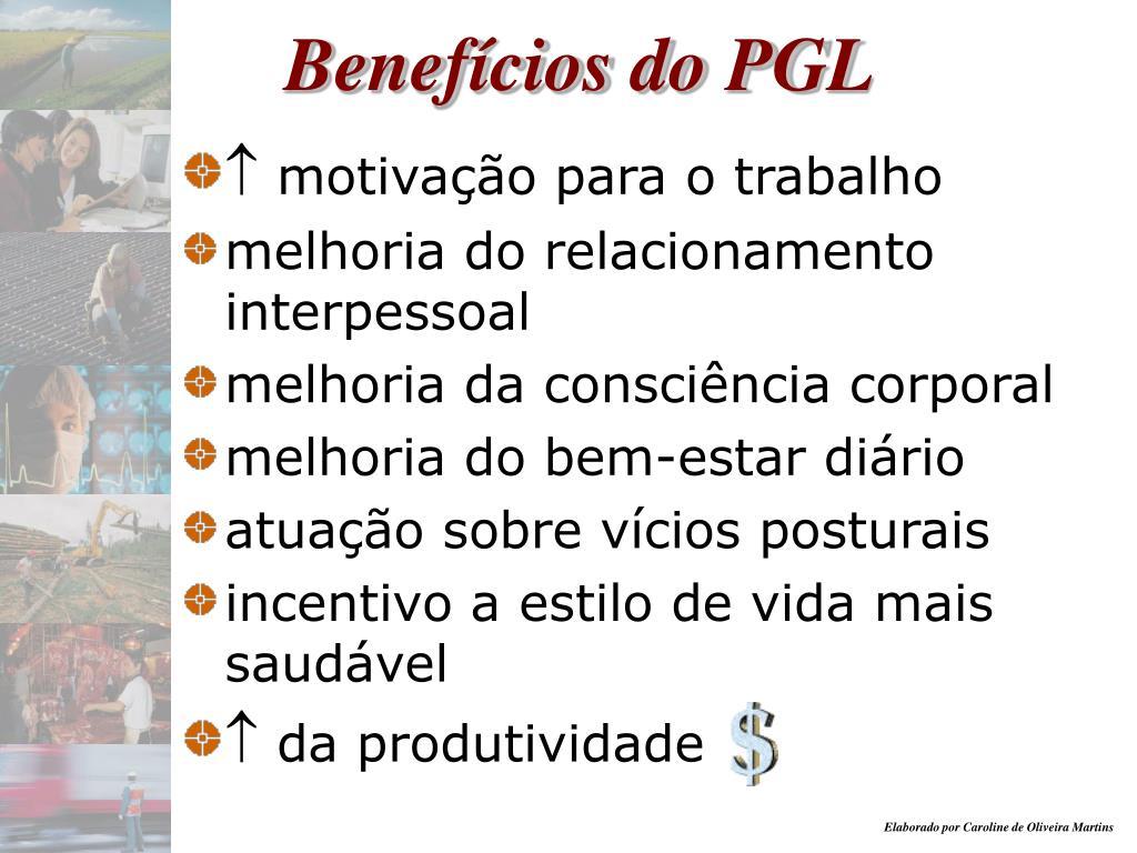 Benefícios do P