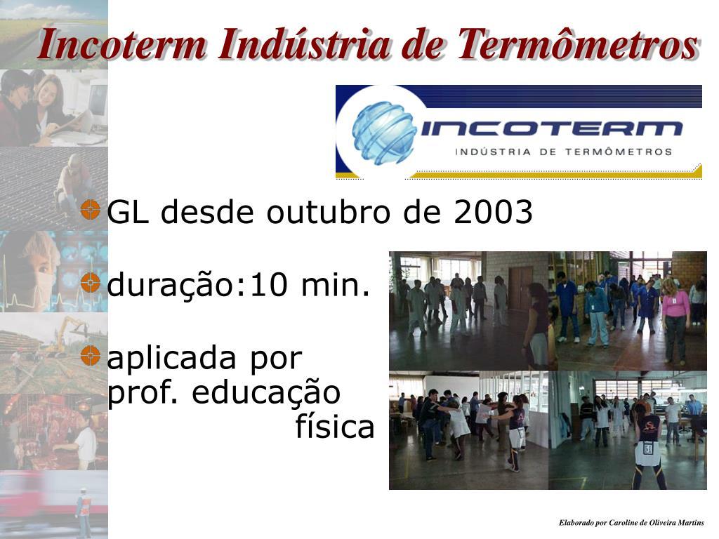 Incoterm Indústria de Termômetros