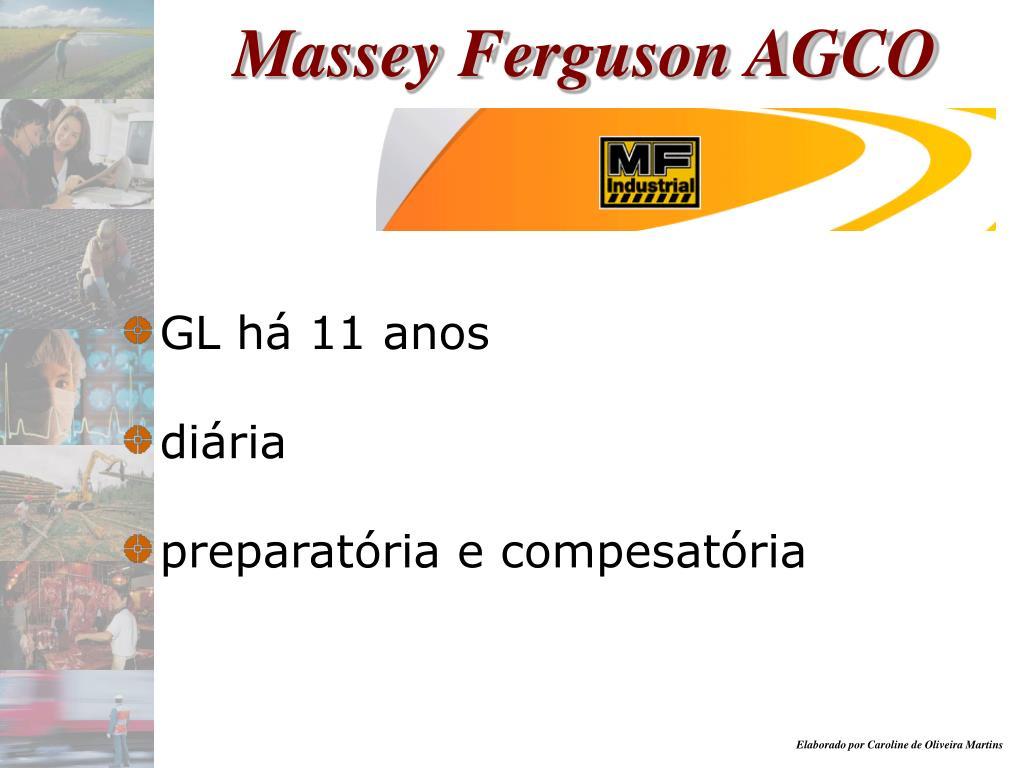 Massey Ferguson AGCO