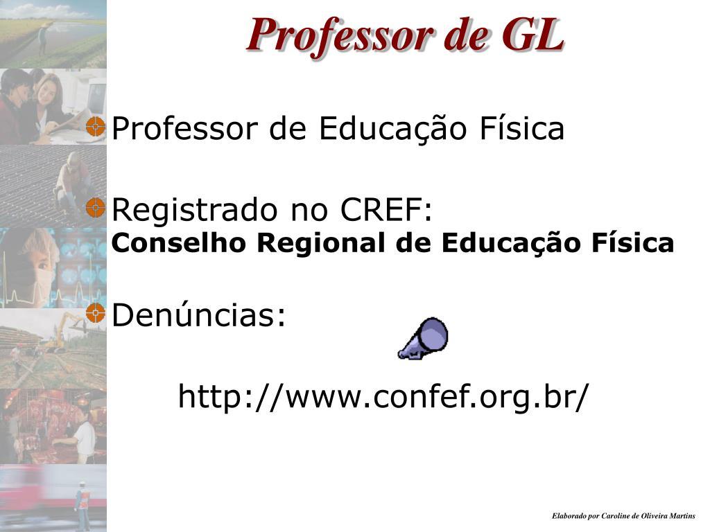 Professor de GL