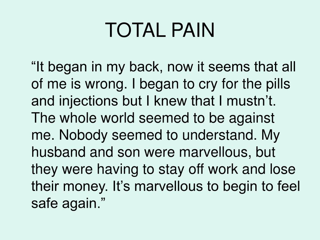 TOTAL PAIN