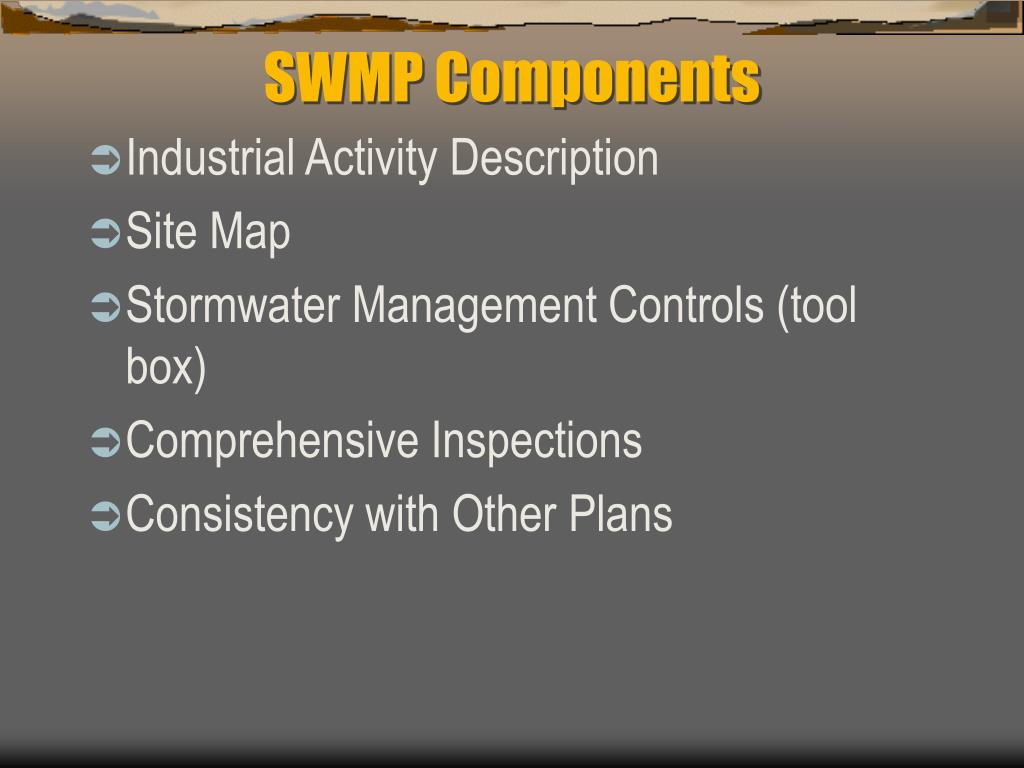 SWMP Components
